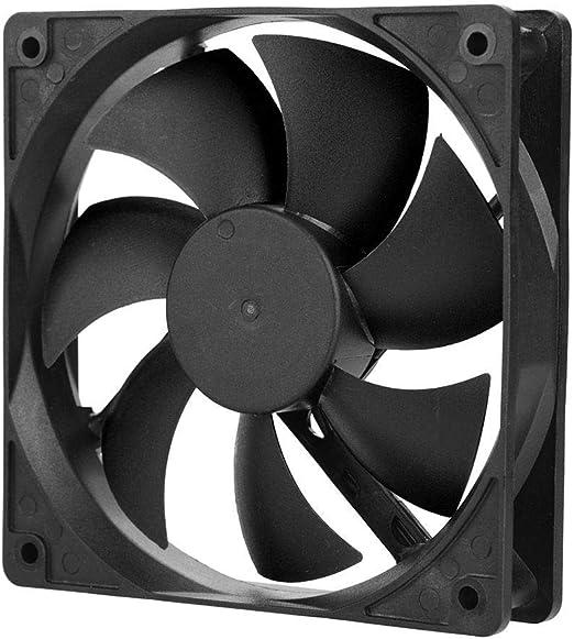 Ventilador de refrigeración de 12 V CC para PC, 120 mm para PC ...