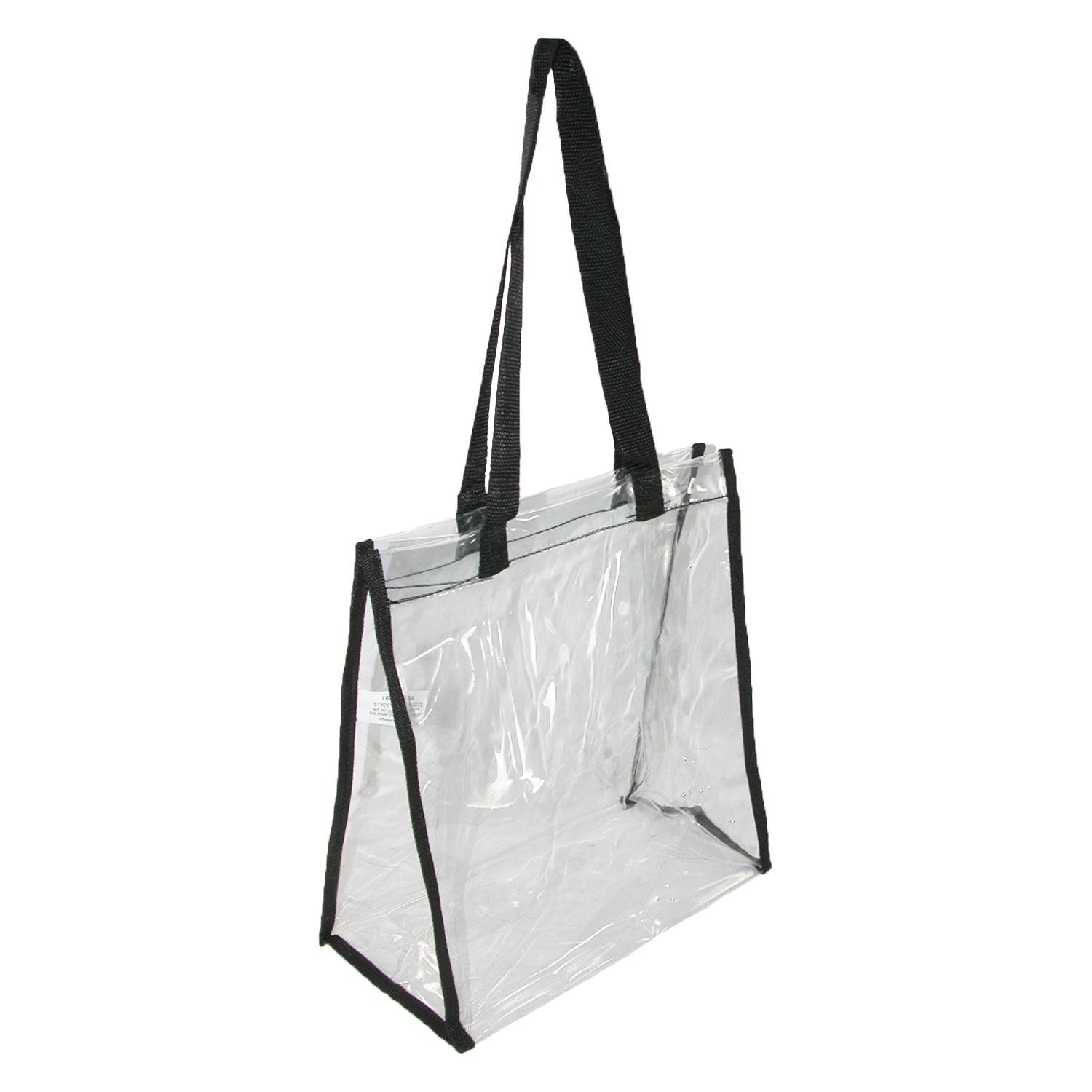 Liberty Bags Clear Double Handle Stadium Friendly Tote Bag