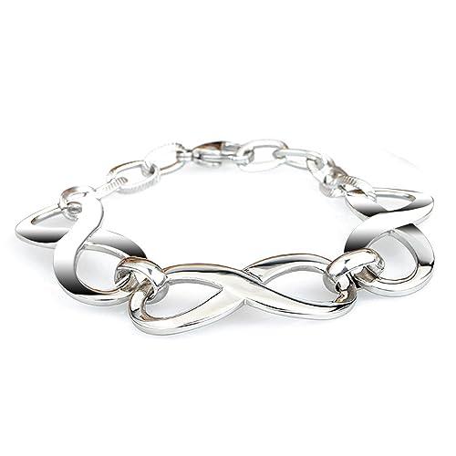 """LDUDU® Damen Armband mit """"unendlicher Liebe"""" Edelstahl Geschenk für Valentinstag Geburtsta..."""