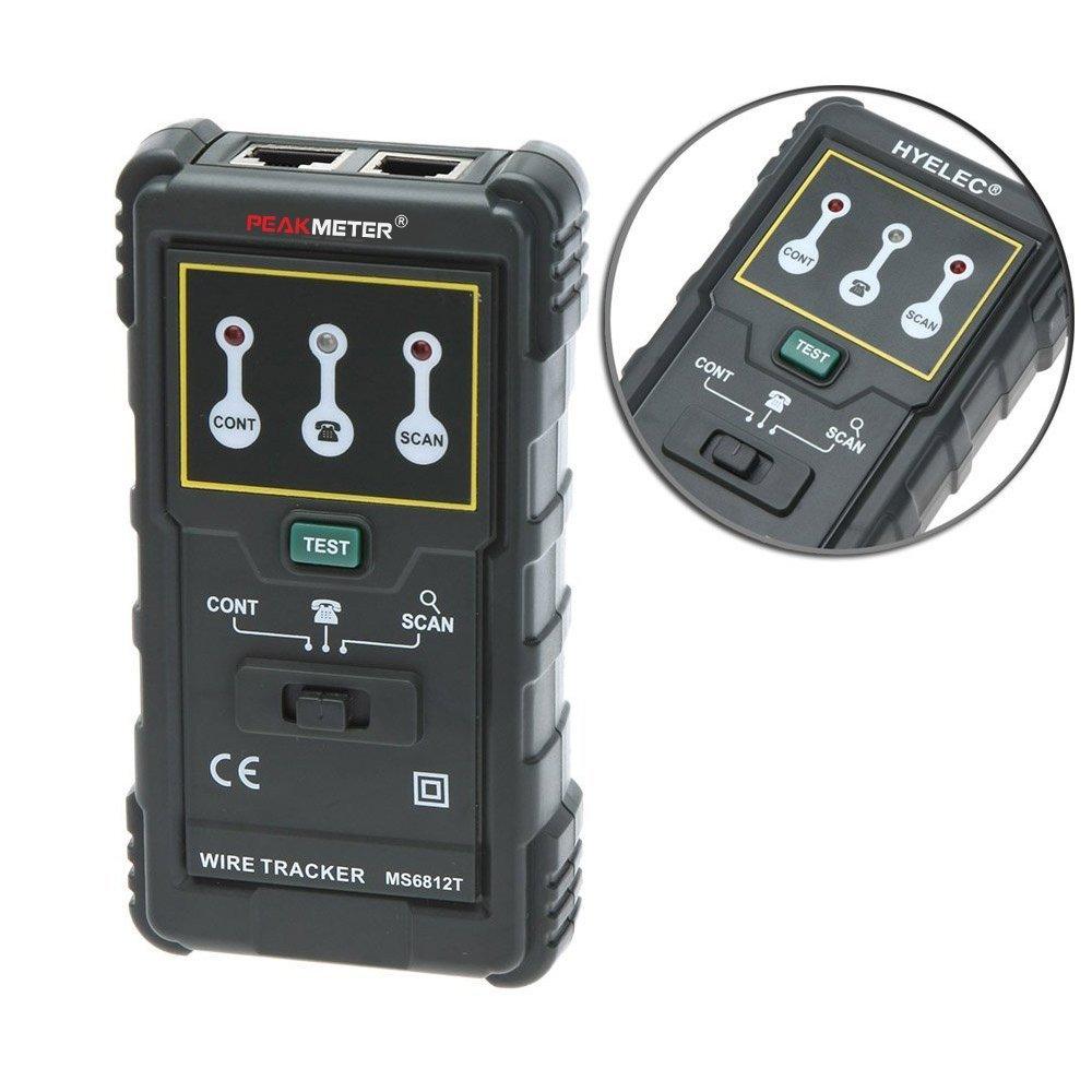 Protech MS6812 Kabel-Draht-Verfolger-Telefonleitung Netz-Tester ...