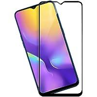 Original Kavacha Premium Samsung Galaxy M20 Tempered Glass – Kavacha Premium Full Glue 9H 6D Full Edge-to-Edge Screen Protection Tempered Glass for Samsung Galaxy M20 (Black)