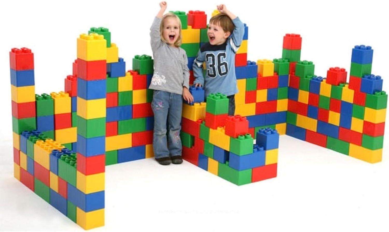 Polesie Polesie41999 Juego de construcción de Ladrillos XXL 72 Piezas, Multicolor