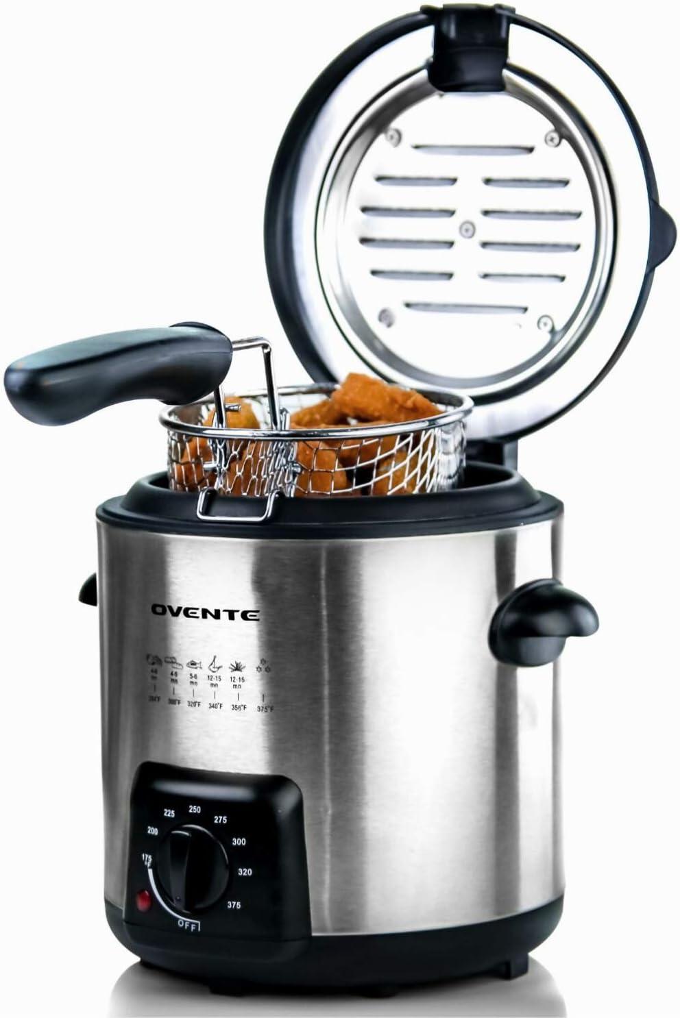 Ovente Electric Deep Fryer