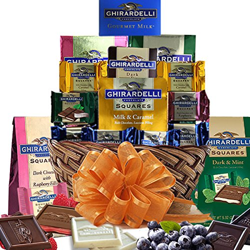 - Holiday Ghirardelli Chocolate Gift Basket