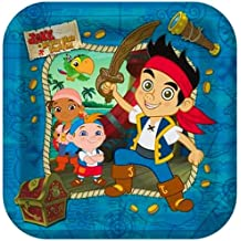 Jake & the Neverland Pirates Party Lunch/Dinner Plates - 24 Guests by Hallmark