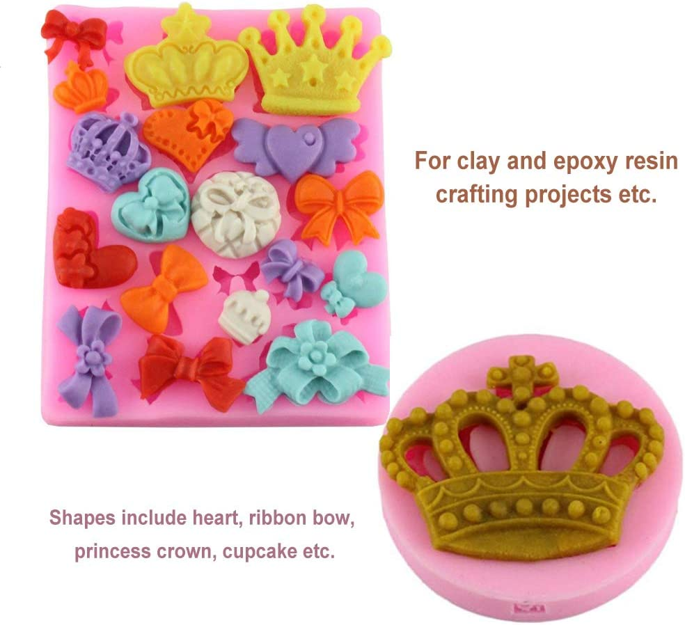 OHYESS DIY 3D Cute Little Baby Infant Birthday Silicone Fondant Chocolate Cake Mold Cookies Icing Baking Clay Soap Mold