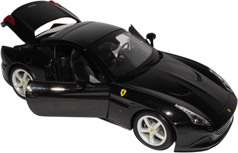 Bburago Ferrari California T Coupe Geschlossen Schwarz Ab 2015 1//18 Modell Auto mit individiuellem Wunschkennzeichen