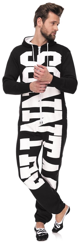 f7eec61b316c48 Loomiloo Jumpsuit Freizeitanzug Overall Hausanzug Einteiler Strampler Anzug  Pyjama Sonntag Schriftzug/USA US Flagge 12519112017 größeres Bild