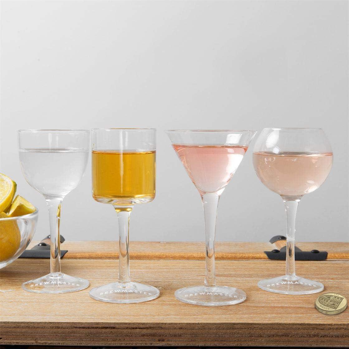WIDDOP Brewmaster Set of Cocktail Shot Glasses