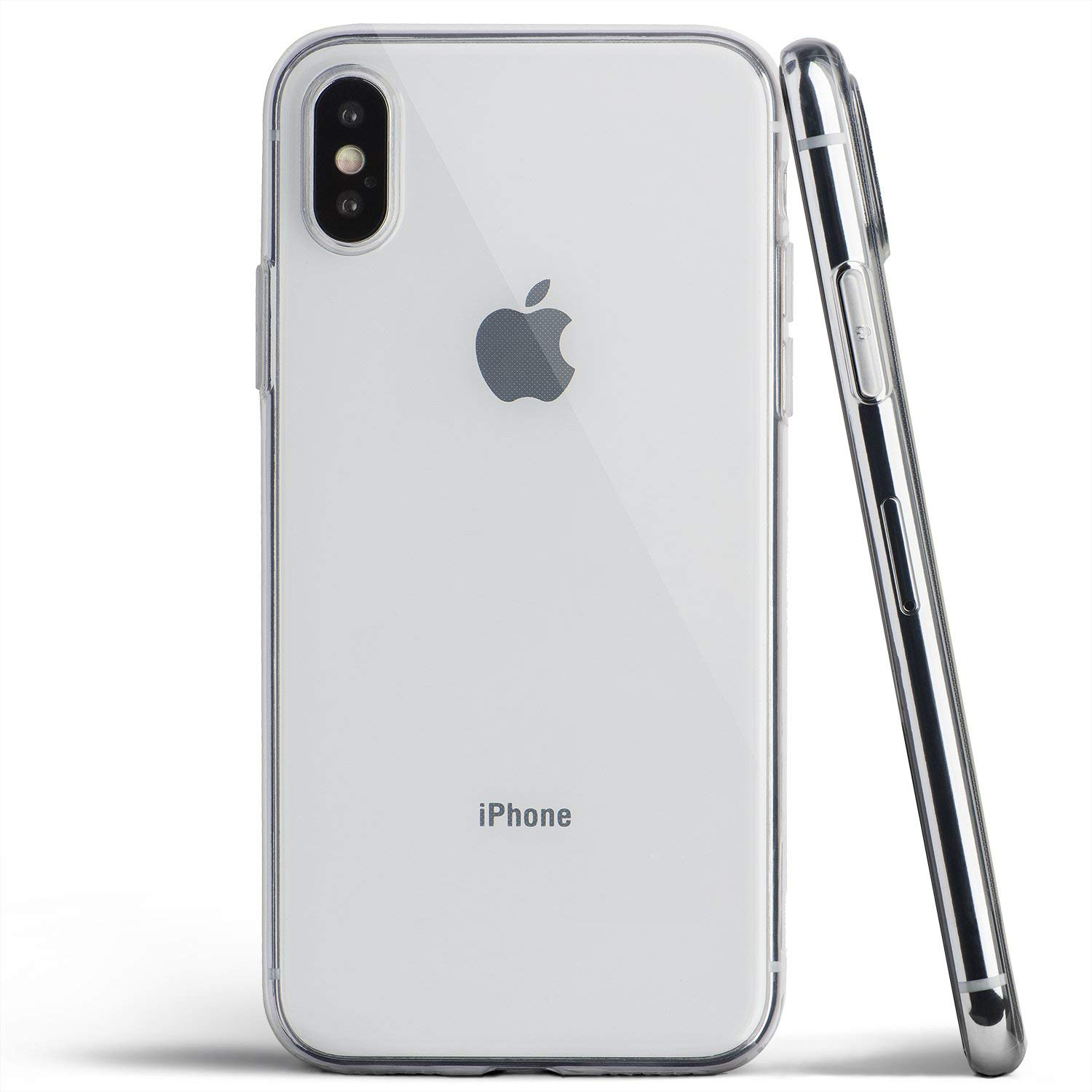 watch 848c5 bcf40 totallee Clear iPhone Xs Case, Thin Cover Ultra Slim Minimal - for Apple  iPhone Xs (2018) (Transparent)