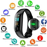 Fitness Tracker/Smart Bracelet,HD Color Screen IP68 Waterproof M3 PLUS Activity Tracker Wristband With Blood Pressure Heart Rate Monitor,Sport Pedometer Step Counter For Android/iOS