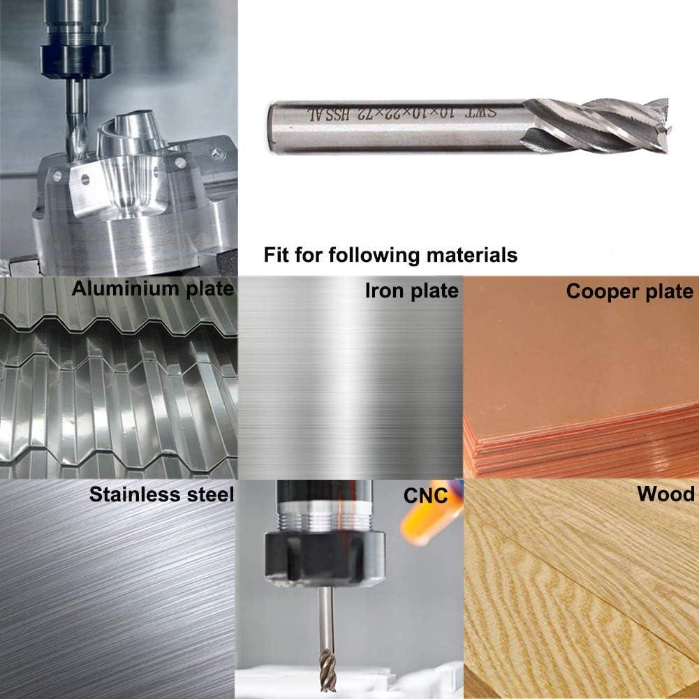 "1//4 /"" Schaftfräser Spiralbohrer Kit Set CNC 4 Flöte CNC-Fräsmaschine 1//4"