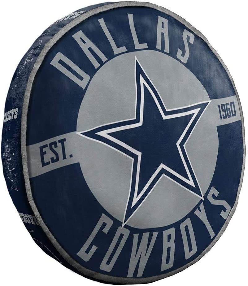 The Northwest Company NFL Dallas Cowboys Sports Fan Bed Pillows, Team Color, One Size