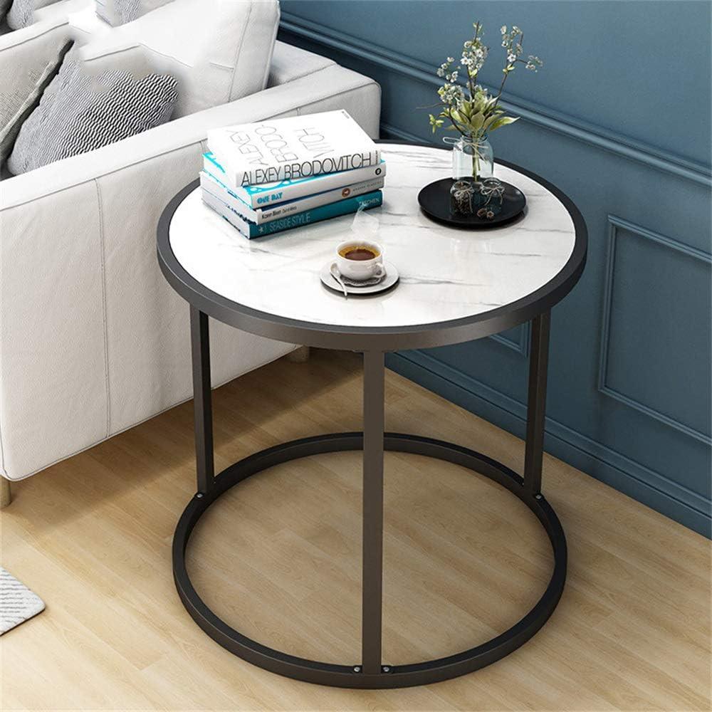 2020 Korting ZRRonde salontafel, rond, met metalen frame van messing, voor thuis, woonkamer, eetkamer B cZMEeo2
