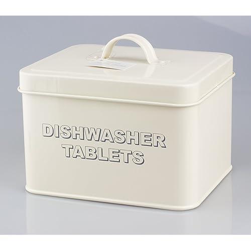 Leonardo Collection Home Sweet Home Dishwasher Tablets, Cream