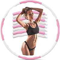 Coriver Fitness Hoola Hoop, Afneembare Oefening Hoop Wave Ontwerp Gewichtsverlies Hoop Training Hoop Sport Hoop Acht…