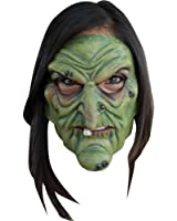 Green Witch Mouth Moving Mask