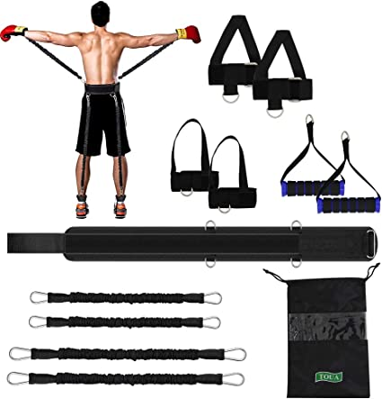 TOUA Speed Strength and Agility Resistance Bands Set Training Strap for Vertical