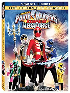 Power Rangers Super Megaforce: The Complete Season [DVD + Digital]