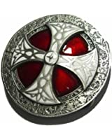 Norse Cross Belt Buckle + display stand