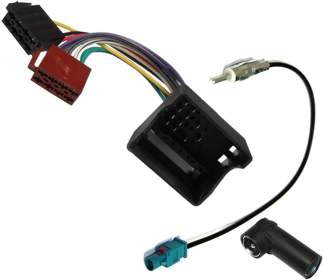 Cable Aerzetix: Car Radio Antenna Kit Harness Adapters