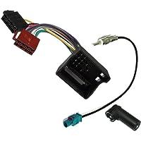 AERZETIX: Adaptador con ISO cables enchufes y antena