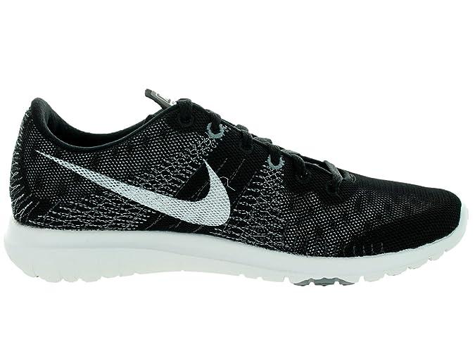 Nike Flex Fury Noir / blanc / loup gris / cl Gris Running Shoe 8.5 nous:  Amazon.fr: Chaussures et Sacs