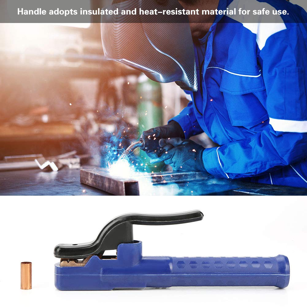 500A Welding Electrode Holder Insulated Copper Welding Clamp for Welding Machine
