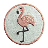 Pier 1 Imports Flamingo Round Bath Rug Bathroom Shower Mat