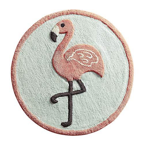 Pier 1 Imports Flamingo Round Bath Rug Bathroom Shower Mat by Pier 1 Imports