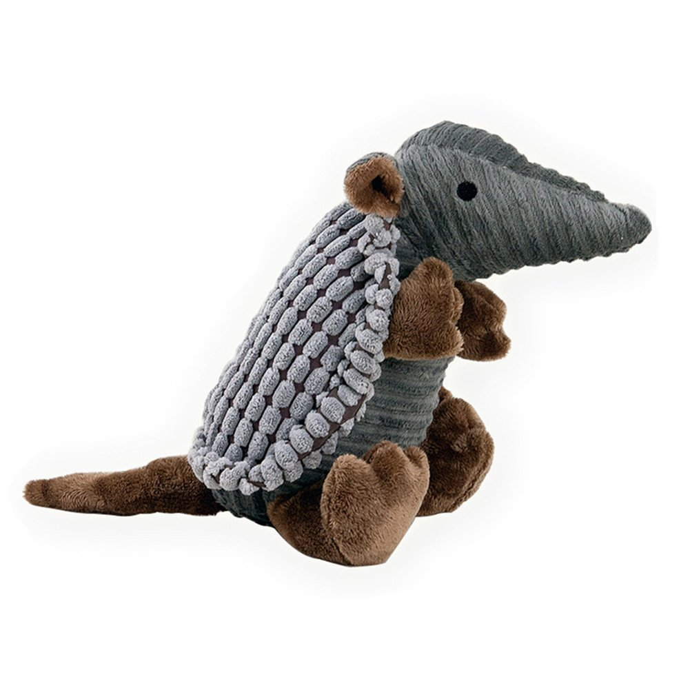 LXLP Pet Dog Toy, Squeaky Dog Toy, Plush toy Dog Chew Toy Suitable for Medium and large Dogs (Armadillo)
