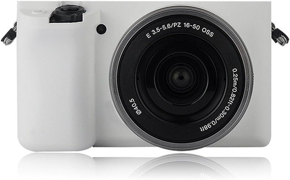 /50/mm lente yingge goma silicona Carcasa Piel Funda para C/ámara Cuerpo protectora cubierta para Sony Alpha A6000/con 16/