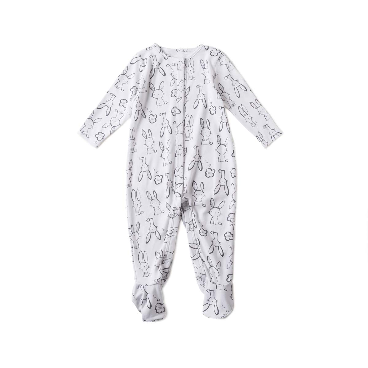 OnlyAngel Infant Baby Girls Footies Onesies Jumpsuit Button-up Romper 3-18Months