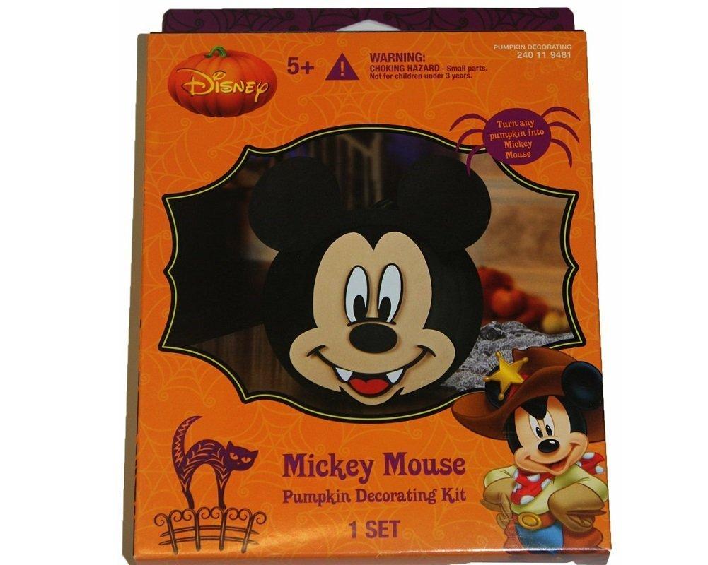 Amazon.com: Disney Mickey Mouse Pumpkin Decorating Kit: Arts ...