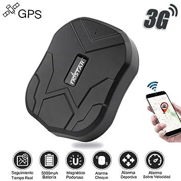 3G Localizador GPS Coche TKSTAR Impermeable Imán Tiempo Real ...