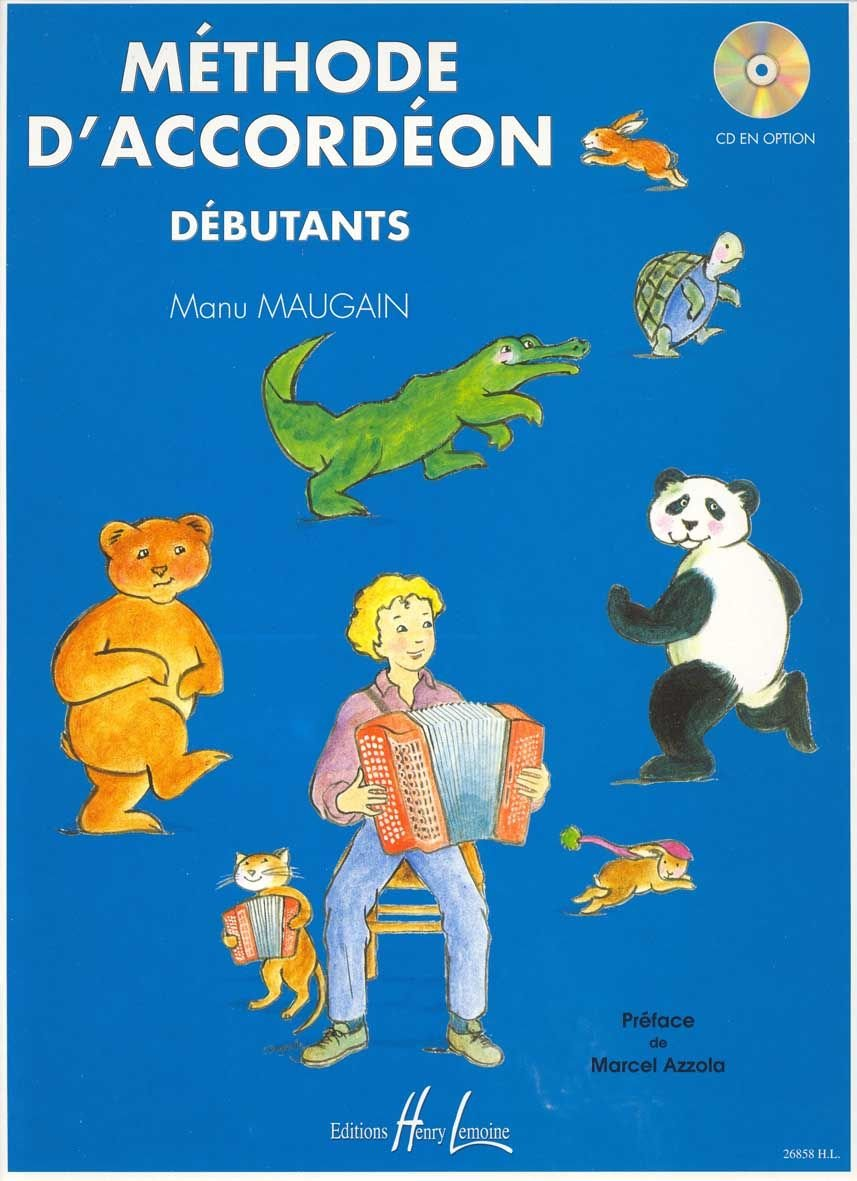 Méthode d'accordéon Volume 1 Partition – 19 septembre 1998 Manu Maugain Lemoine B000ZGDQUK Music