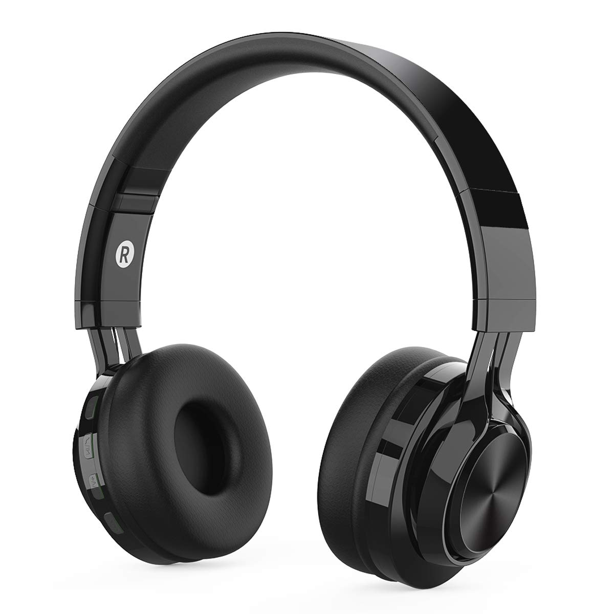 Wireless Bluetooth Headphones for Kids, MeihuaTu Foldable Hi-Fi Stereo Headset Built-in Microphone for iPhone,Samsung Huawei Xiaomi Tablets TV(Black)