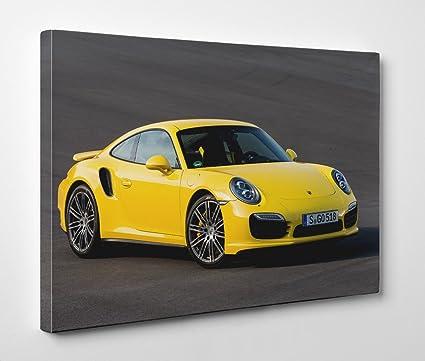 Gran arte tienda Porsche 911 Turbo 4 – Lienzo – De pared Art Giclée, 24