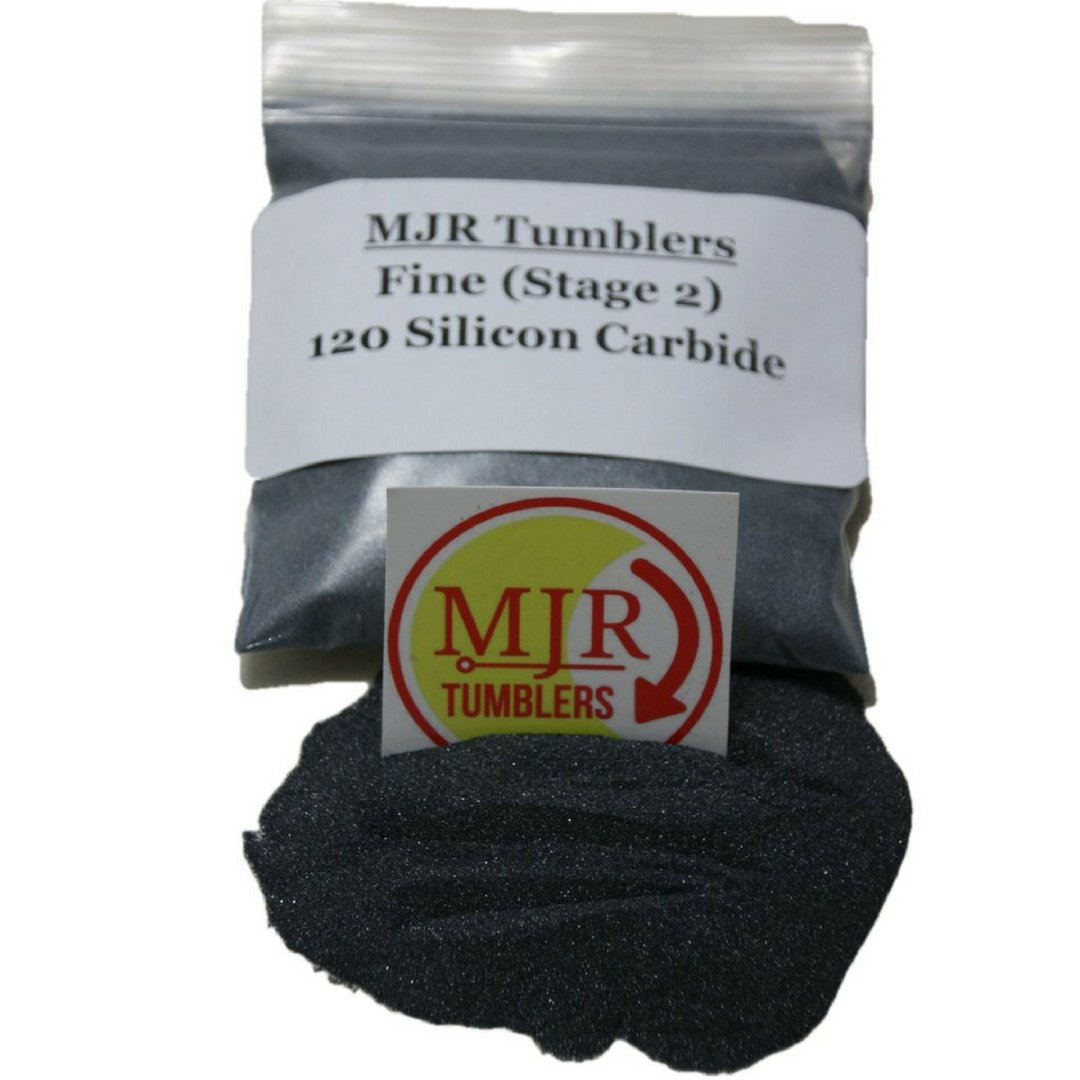 MJR Tumblers 4 lb Silicon Carbide 120 Rock Grit Polish by MJR Tumblers (Image #1)