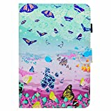 Kindle Paperwhite E-reader 2013, 2015 and 2016 Versions Smart Case Cover, COOSTORE Quality PU Leather, Colorful Pattern Tablet Holster, Colorful Butterfly
