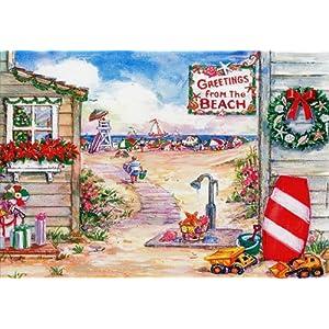 6165yuDzJnL._SS300_ Beach Christmas Cards and Nautical Christmas Cards