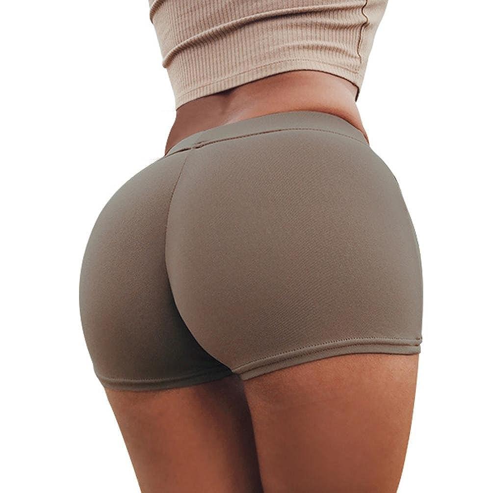 Shorts Gym Workout Waistband Skinny Yoga Short Pants Alonea Women Sports Pants