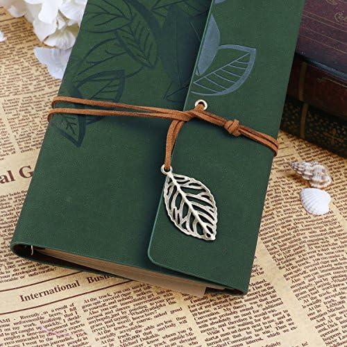 Diario taccuino diario di viaggio diario di viaggio classico vintage goffrato Notebook cordino legato Sketchbook libro Stammbuch regalo