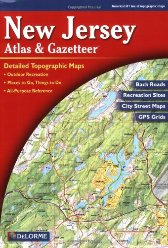 Garmin DeLorme Atlas & Gazetteer Paper Maps- Virginia, AA-000032-000 by Garmin