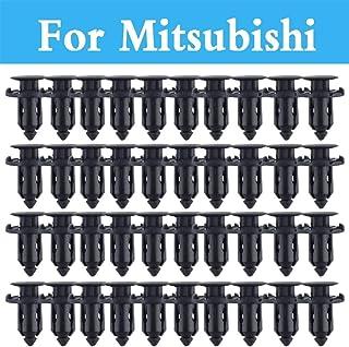 Fastener & Clip 9mm Hole Car Parts Panel Trim Clips Plastic Rivet Fastener for Mitsubishi Galant I I-Miev Lancer Cargo Evolution Ralliart Minica