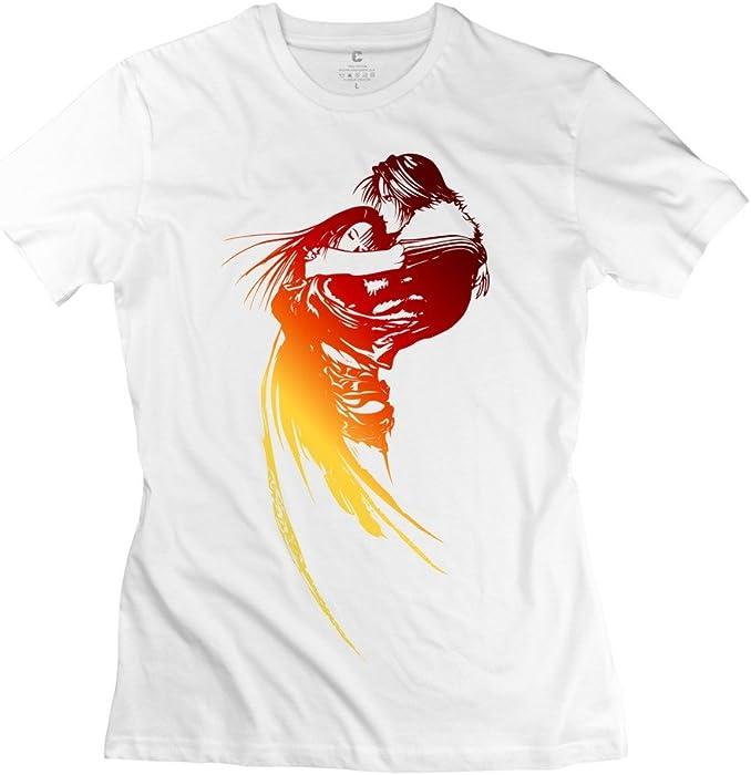 a9823daed1cbb Amazon.com  HM Men s T-shirts Final Fantasy Viii Logo Size M White ...