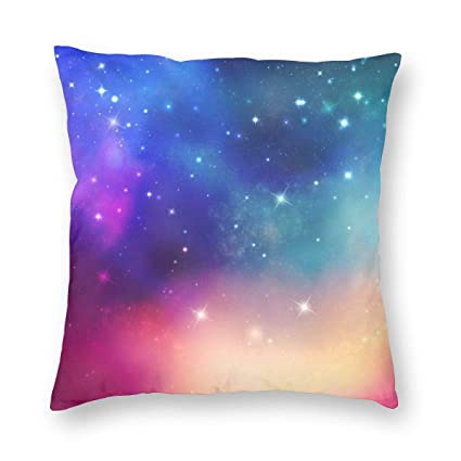 Amazon.com : RITGOWWV Throw Pillow Covers, Print Color Space ...