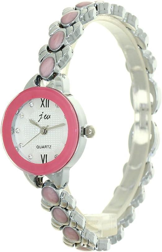 Amazon Com Fashion Luxury Watch Design Quartz Stainless Steel Women Ladies Beaded V Chain Watches Watches