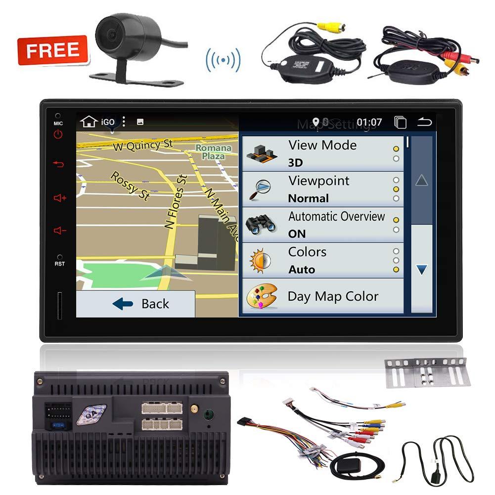 EINCAR Android 7.1 navegaciš®n GPS del Coche de la rociada ...