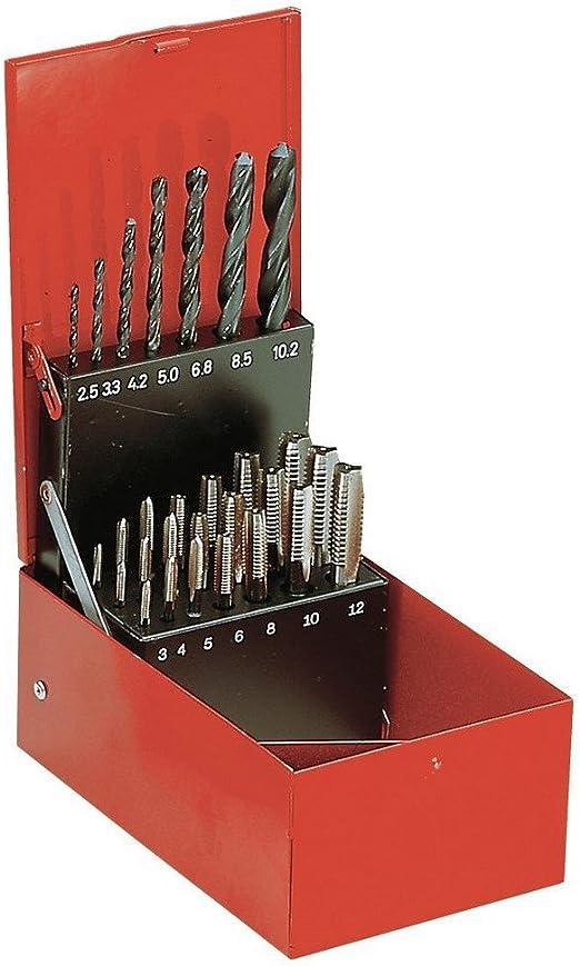 Facom 227.J2A - JUEGO MACHO DE ROSCAR Y BROCAS: Amazon.es: Bricolaje y herramientas